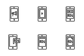 Mobile ADs Icon Pack