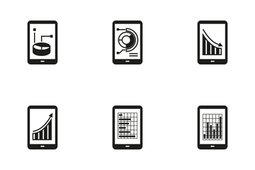 Mobile Analytics Icon Pack
