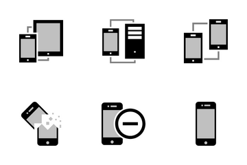 Mobile And Computer Icon Pack