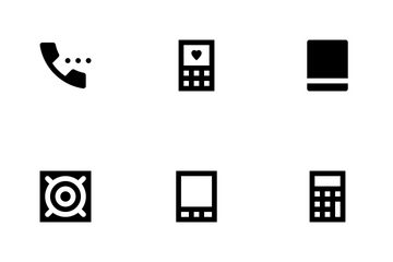 Mobile And Smart Devices Icon Pack
