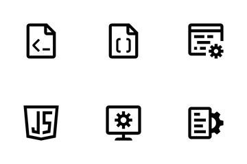 Mobile And Web Development Icon Pack