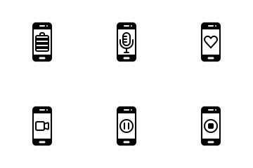 Mobile Aplication Icon Pack