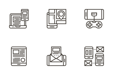 Mobile App And Service Icon Pack