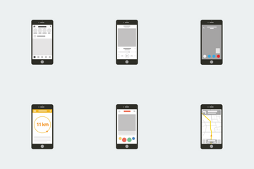 Mobile Applications Icon Pack