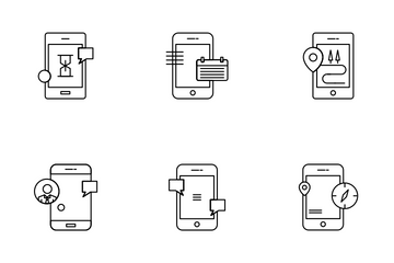 Mobile Apps Icon Pack
