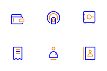 Mobile Banking Icon Pack