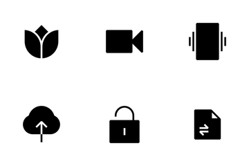 Mobile Essential Icon Pack