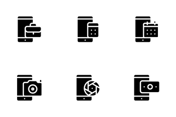 Mobile Function Icon Pack