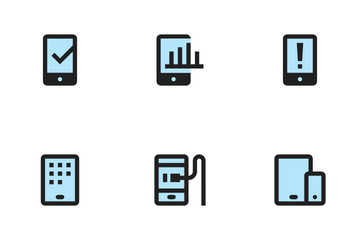 Mobile Functions Icon Pack