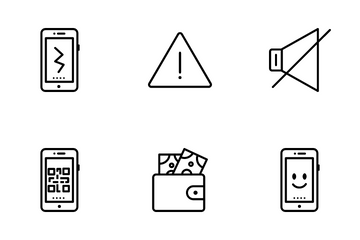 Mobile Insurance Icon Pack