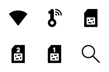 Mobile Network & Internet Icon Pack