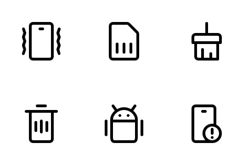 Mobile UI Icon Pack