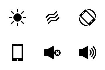 Mobile User Interface Icon Pack