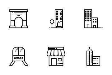 Modern City Icon Pack