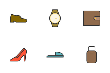 Modern Clothes Filled Icon Icon Pack