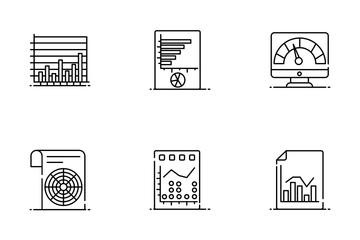 Modern Data Analytics Icon Pack