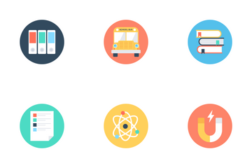 Modern Education 1 Icon Pack