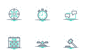 Modern Education Icon Pack