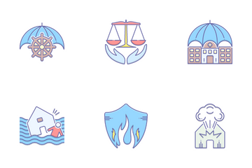 Modern Insurance Icon Pack