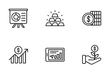 Modern-investments Icon Pack