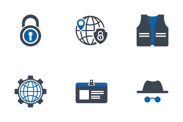 Modern Security Icons Icon Pack