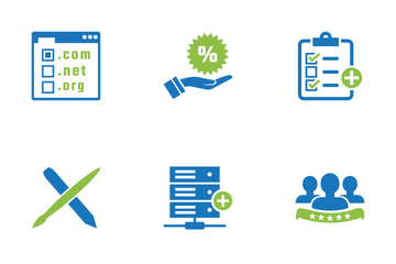 Modern Seo Business Icon Pack