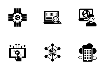 Modern Technology Icon Pack