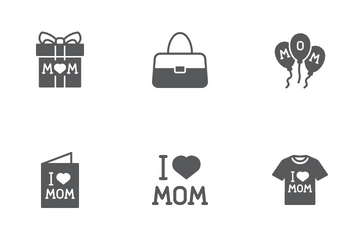 Mom Day Icon Pack