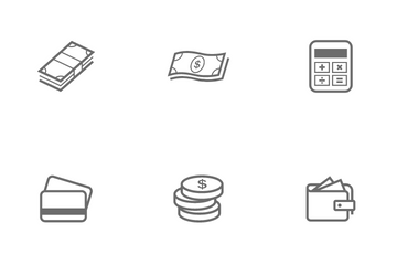 Money And Finance Icon Pack