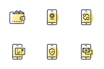 Money, Banking And Payment Icon Pack