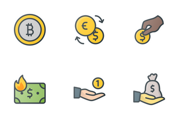 Money & Currencies Icon Pack