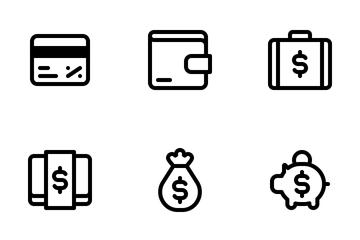 Money Set Icon Pack