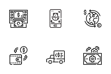 Money Transfer Icon Pack
