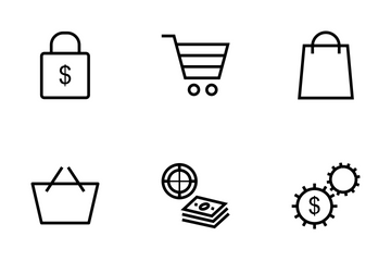 Money Vector Line Icons Icon Pack