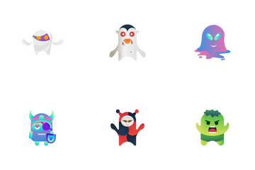 Monster Character Icon Pack