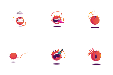Monster Stickers Icon Pack