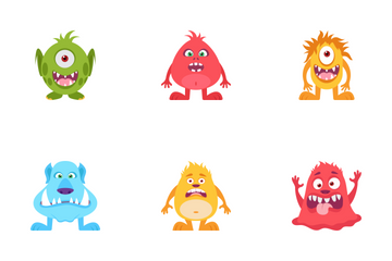 Monsters Icon Pack