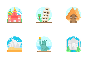 Monuments Icon Pack