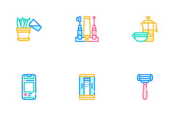 Morning Routine Daily Icon Pack