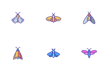 Moth Icon Pack