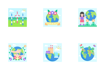 Mother Earth Day Icon Pack