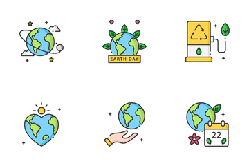 Earth Day Icon Pack
