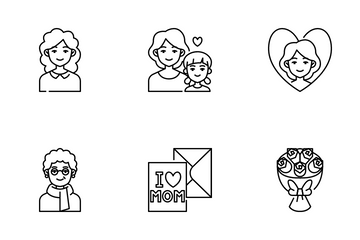 Mother's Day Icon Pack
