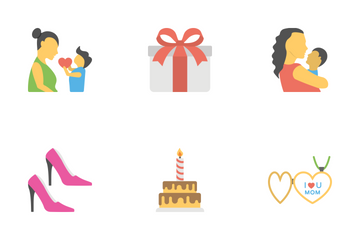 Mothers Day Icon Pack
