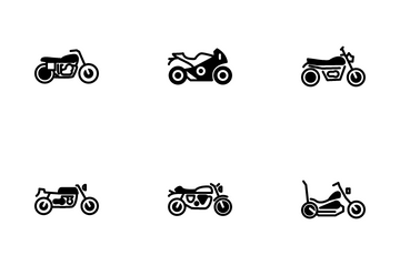 Motorcycle Icon Pack