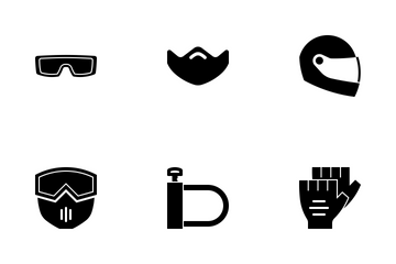 Motorcycle Accessory Icon Pack
