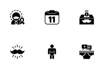 Movember Icon Pack