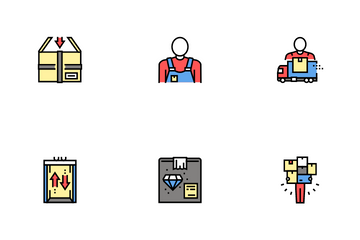 Mover Express Service Icon Pack