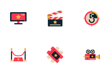 Movie And Cinema Icon Pack