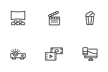 Movie Entertainment Icon Pack